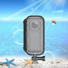 for Insta 360 ONE X Camera 30 Meters Waterproof Depth Dive Protective Case(China)
