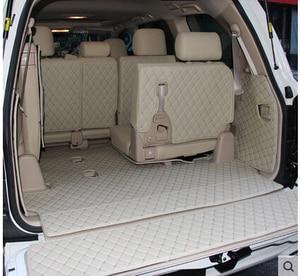 Image 3 - 車旅行ブランド特別のトランクマットトヨタランドクルーザー 200 7 席 2017 防水ブーツカーペットトヨタ LC200 4 シーズン