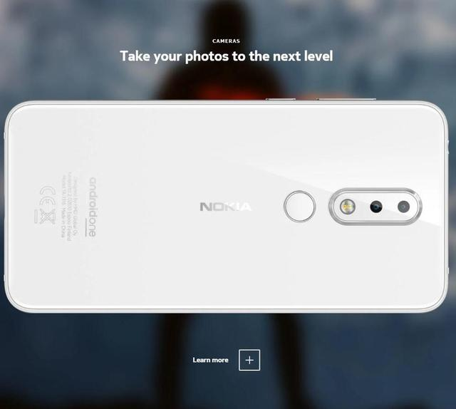 Nokia 6.1 Plus  Android 4G Mobile Phone 5.8″ FHD+ 4GB 64GB