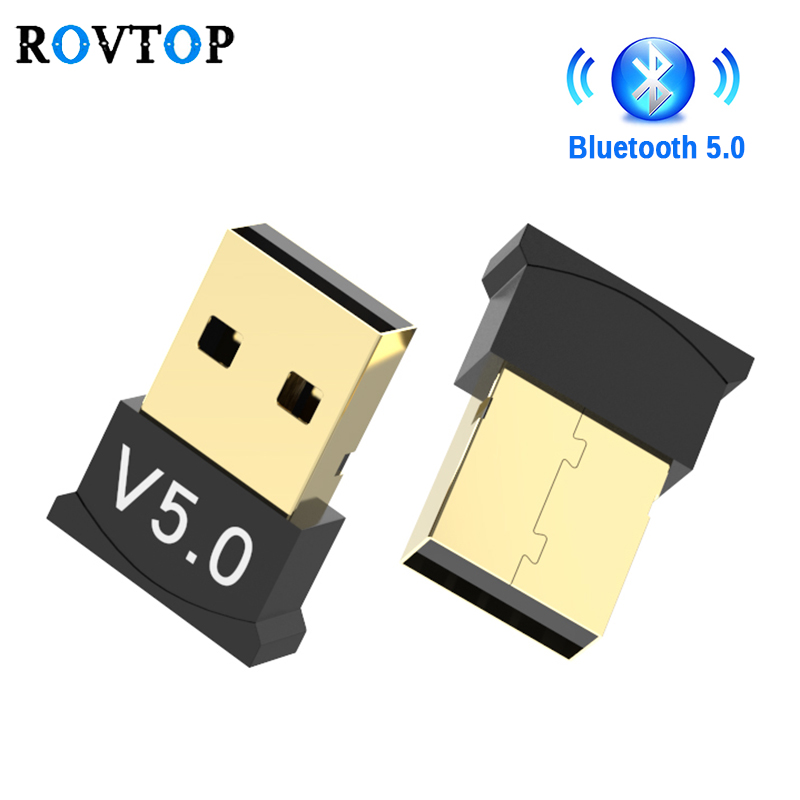 Wireless USB Bluetooth 5.0 Adattatore Dongle Musica Ricevitore Audio Adattatore Trasmettitore Bluetooth Per Il Calcolatore Del PC Del Computer Portatile Del Mouse Z2 title=