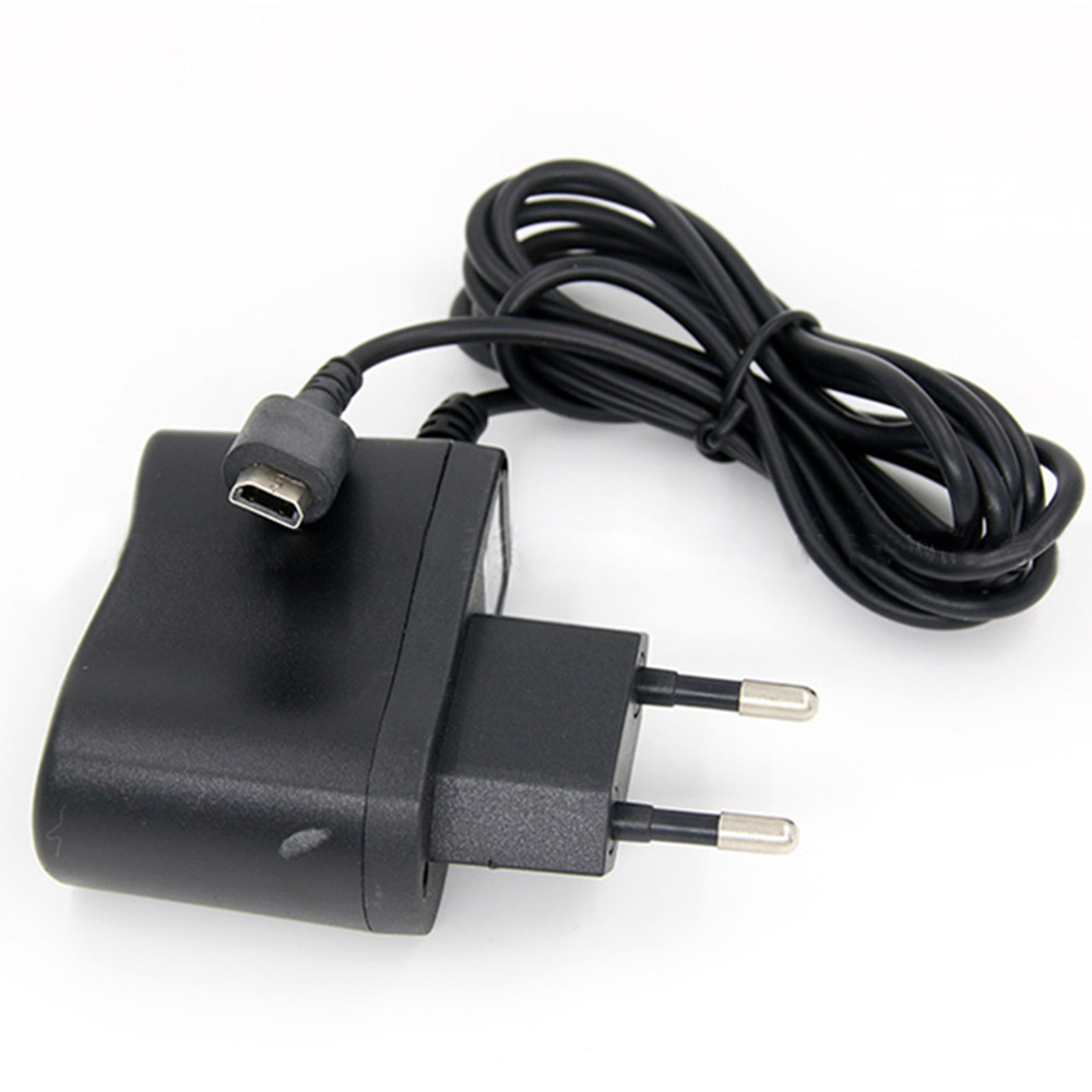 Black EU Plug Charger Power Supply Ac Adapter For Nintendo DSL DS Lite NDSL Console