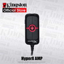 Kingston amp hyperx virtual 7.1 placa de som do jogo de som surround virtual controle remoto embutido dps placa de som