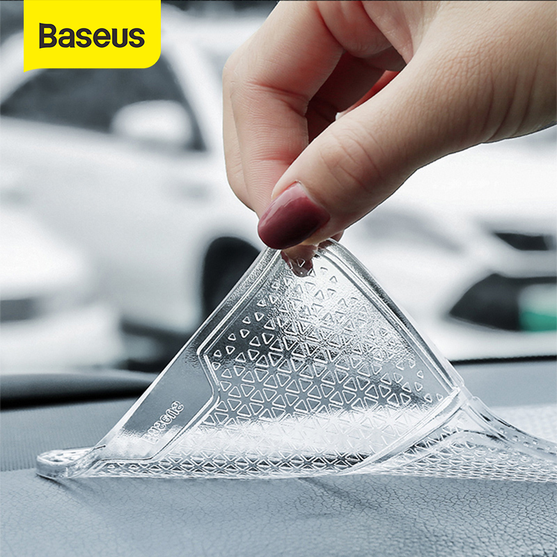 Baseus Multifunctional Phone Holder Anti-Slip Mat in Car Auto Dashboard Sticky Pad Holder Bracket Non-Slip Mat Car Phone Holder