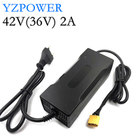 42V 2A 2.5A 3A Lithium Battery Charger For 36V 8Ah 10Ah 12Ah 15Ah 20Ah Li ion Li poly Electric Scooter E bike Battery Pack