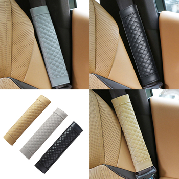 Car Seat Belt Cover Shoulder Cover For Honda Civic Accord Crv Fit Jazz Dio City Hrv Subaru Forester Impreza Outback image