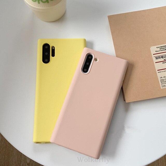 Galaxy Note 10 Liquid Silicone Case 2