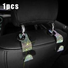 Универсальный разноцветный крючок для заднего сиденья автомобиля
