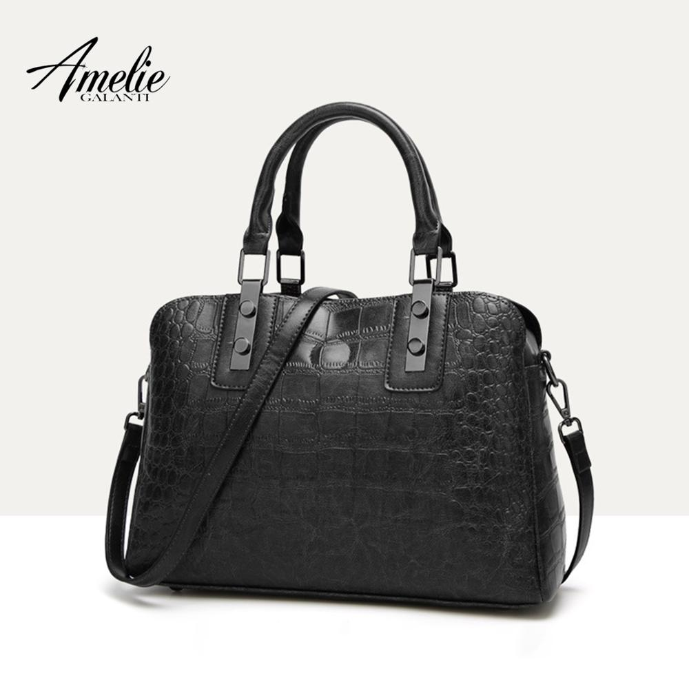 AMELIE GALANTI Crossbody Bags For Women 2019 New Fashion Simple Handbag Ladies Shoulder Bag Essential For Autumn And Winter