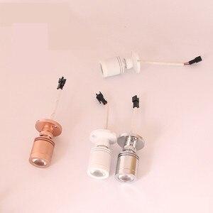 Image 4 - 5 יח\חבילה RGB LED זרקור משטח 3W מיני led ספוט אור תקרה למטה תאורה ניתן לעמעום ארון הנורה AC85 265V