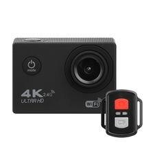 Экшн камера h9r 4k с wi fi и пультом дистанционного управления