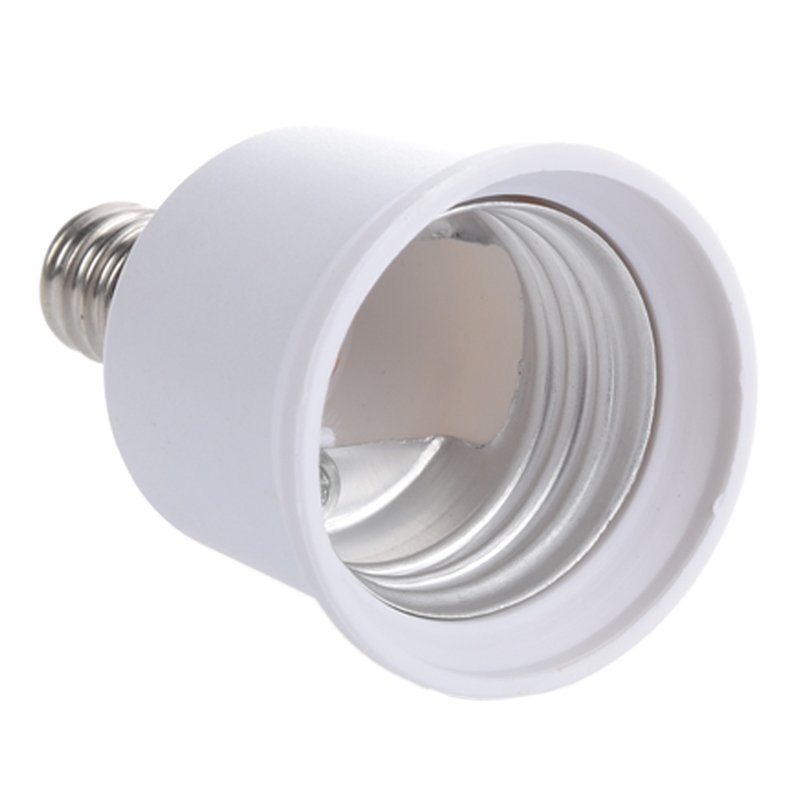 Buy E12 - E27 Candelabra Bulb Lamp Socket Enlarger Adapter for only 1.62 USD