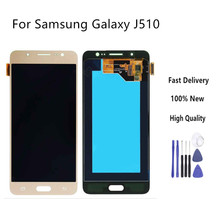 For Samsung Galaxy J5 2016 J510 J510FN J510F J510Y J510M J510G LCD Display With Touch Screen Digitizer Assembly+Tools(China)