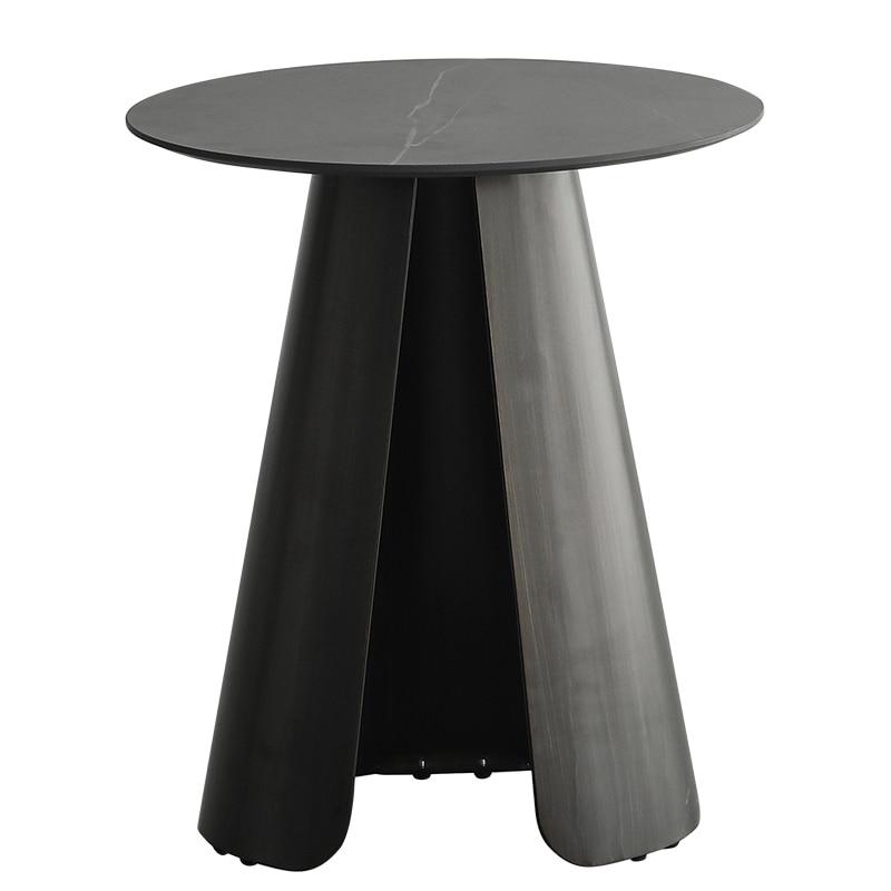 Луи Мода журнальные столики современный простой дизайн сланец железа маленькая семья гостиная сторона - Цвет: S1
