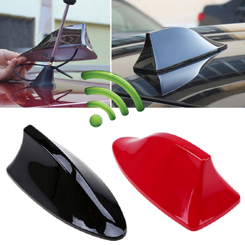 Car Shark Fin Antenna for BMW/Honda/Toyota/Hyundai/VW/Kia/Nissan Fin On CarAuto Radio Signal Aerials Roof Antennas image