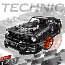 3168pcs RC Forded Mustanged Building Block Technic Remote Control Racing Car Vehicle Bricks Set Kids Models Children Toys Gifts