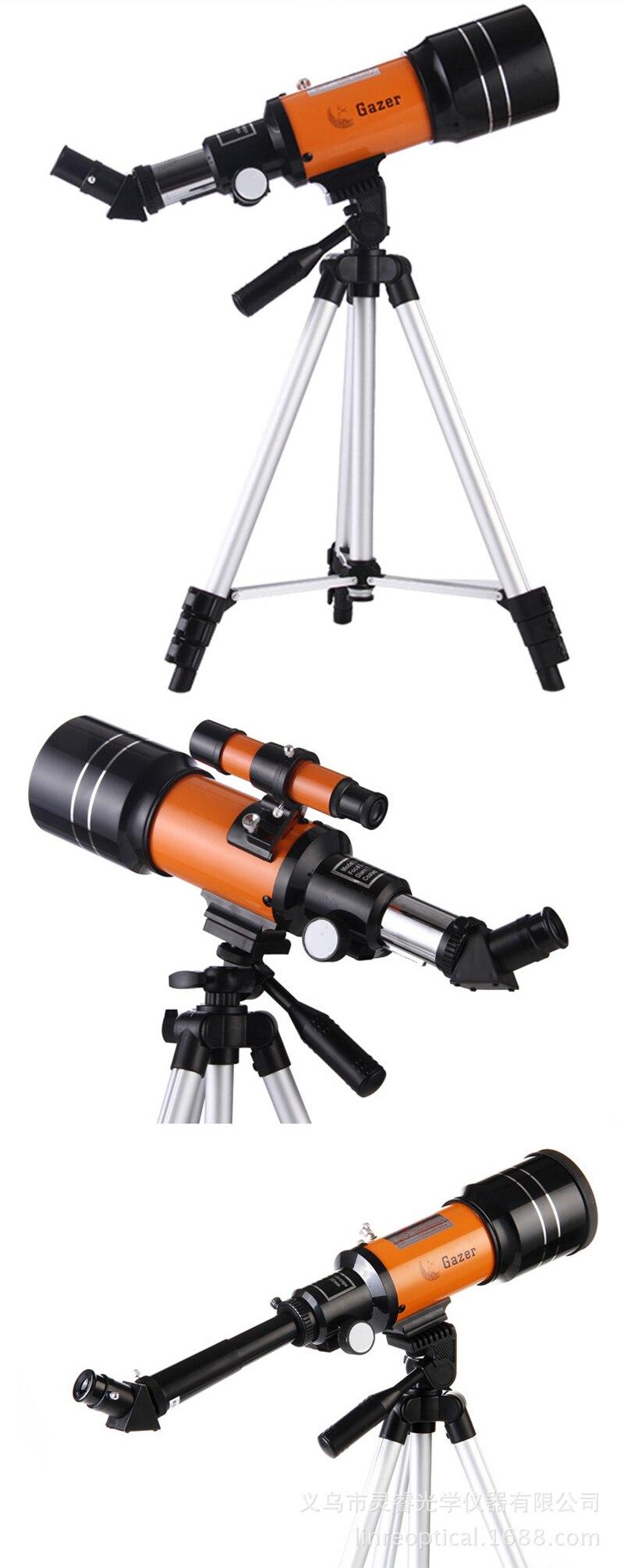 profundo vista estrela lua 1000 telescópio monocular