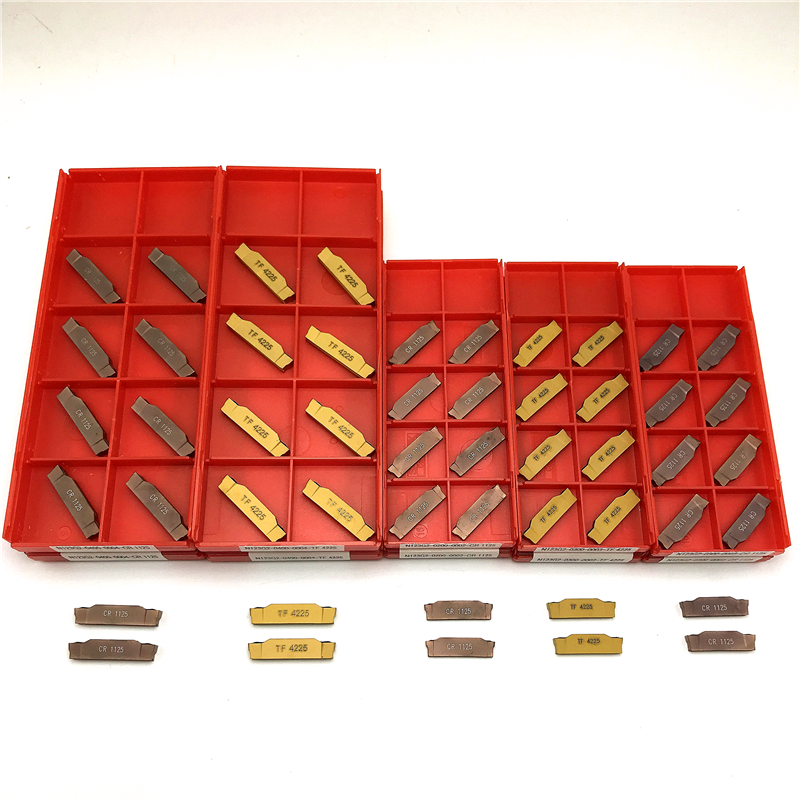 Grooving Turning Tool N123G2 CR1125 TF4225 2MM 3MM 4MM Carbide Inserts CNC Lathe Tool Grooving Turning N123G2 Grooving Inserts