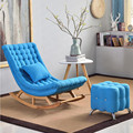 Кресло-качалка для отдыха в европейском стиле  шезлонг  балкон  кресло-качалка  одиночный диван  кресло для сиесты