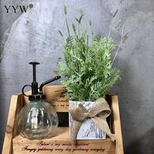 лучшая цена Artificial Flower Plant Potted Pot Desktop Fake Plants Bonsai Small Vase Fake Flower Wedding Christmas Decoration For Home Gift