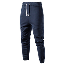 2021 New Cotton Running Sport Pants Men Solid Color Streetwear GYM Mens Joggers Sweatpants For Men Spring Fitness Male Trousers