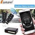 Eunavi Универсальный Автомобильный BT пульт дистанционного управления  набор бесключевая система входа  светодиодный брелок  центральный двер...