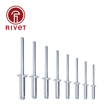 DIN 15983 M3.2/M3 Stainless Steel And Steel Blind Rivet Pop Rivet Round Head Open Type Csk Head Multi Size 100/500 Pcs iso 15974 m3 2 m4 stainless steel countersunk head closed end blind rivet sealed breakstem fasteners 100 500 pcs
