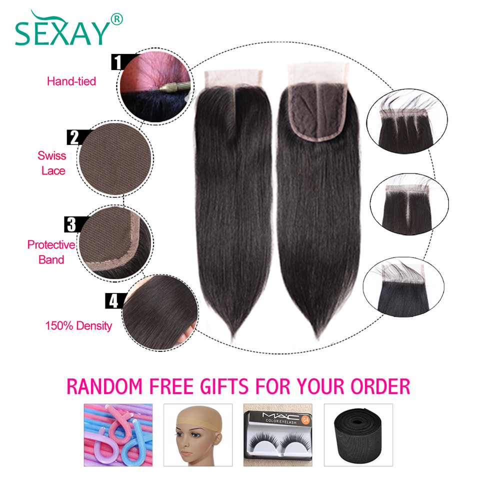 Sapphire-Straight-Bundles-With-Closure-Brazilian-Hair-Weave-Bundles-With-Closure-Human-Hair-Bundles-With-Closure