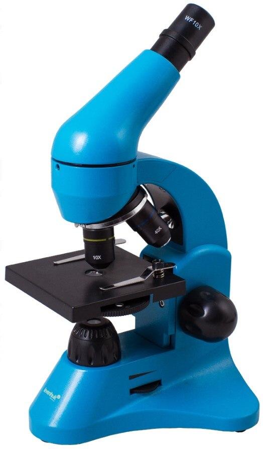 Микроскоп Levenhuk Rainbow 50L Azure\Лазурь|Микроскопы| | АлиЭкспресс