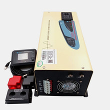 цена на Home power inverter 3000w with charger dc 12v 24v 48v to ac 110v 220v free shipping