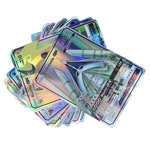 Image 2 - GX MEGA brillant cartes jeu bataille Carte 20 60 100 pièces 200 pièces cartes à collectionner jeu enfants jouet