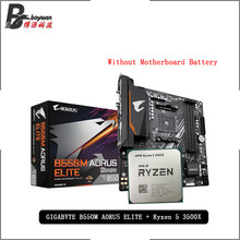 ELITE 3500x-Cpu B550m-Aorus Amd Ryzen Suit-Socket AM4 R5 GA New Cooler But All Without