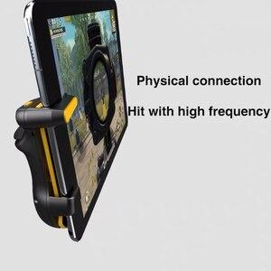 Image 2 - for PUBG Trigger Controller Capacitance L1R1 Aim Button Gamepad Joystick For Tablet Phone FPS Game Triger Joystick Accessories