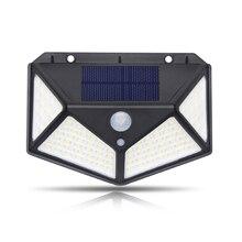 Настенный светильник с солнечным датчиком движения, уличный светильник для улицы, дома, прочный светильник для дорожки, экологичный