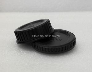 Image 5 - 10pcs/ SLR camera body cap rear lens cap front cover for Canon for Nikon