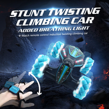 Toy GW124 RC Car Remote Control Twist Stunt Car Machaine on The Radio Off-Road Vechile Gift Toy for Kids carro de control remoto