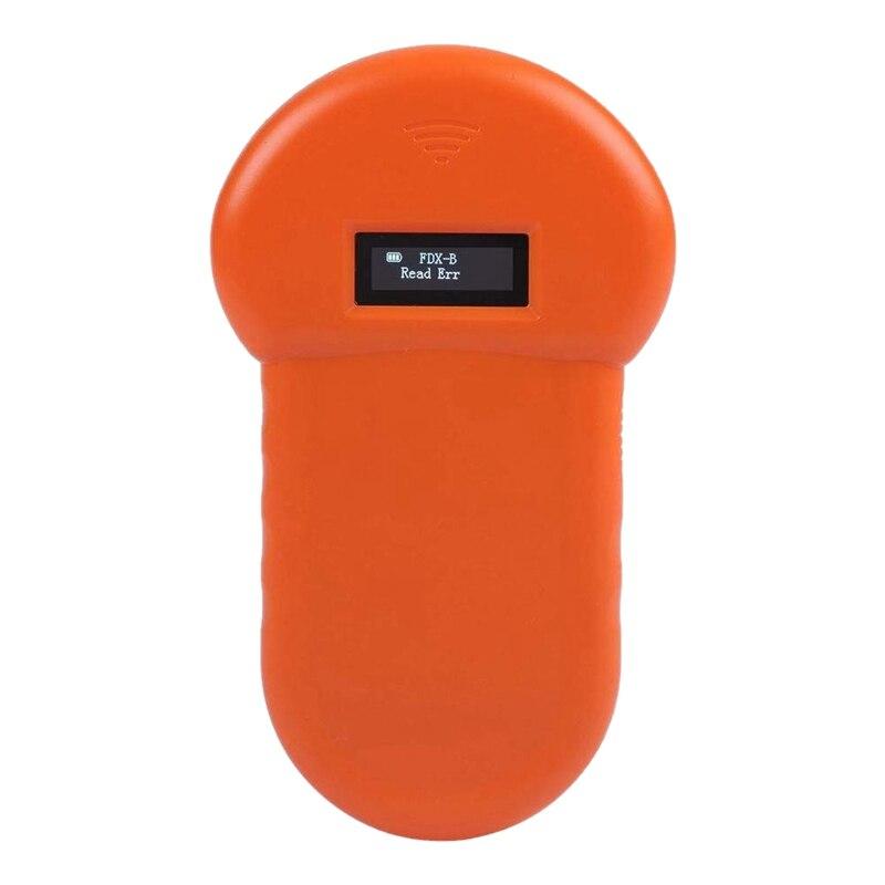 134 2 khz animal de estimacao id leitor chip animal varredor digital usb recarregavel microchip handheld