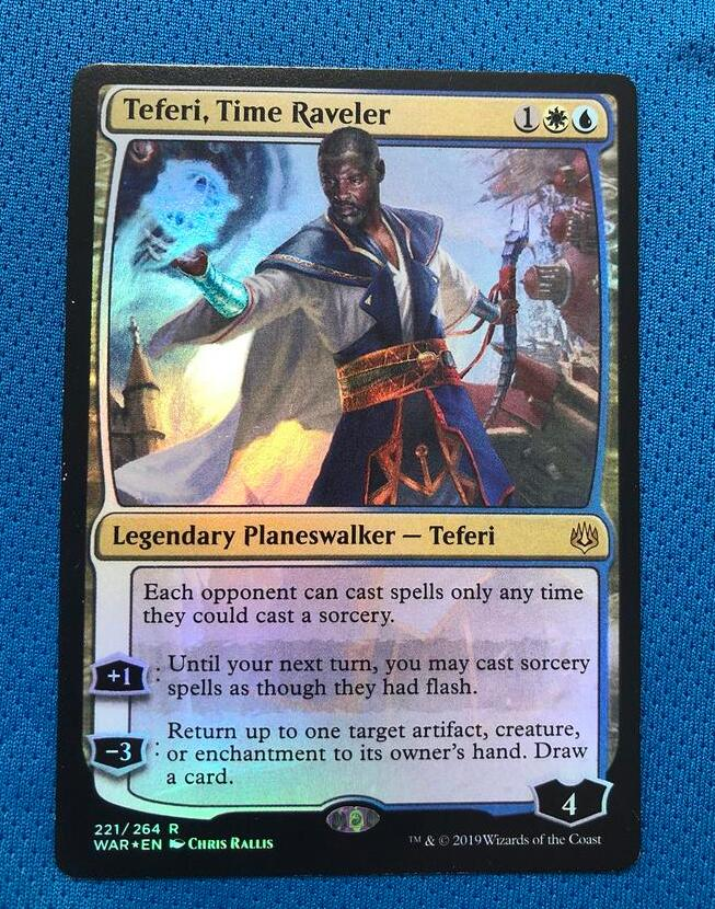 Teferi, Time Raveler WotS Foil Magician ProxyKing 8.0 VIP The Proxy Cards To Gathering Every Single Mg Card.