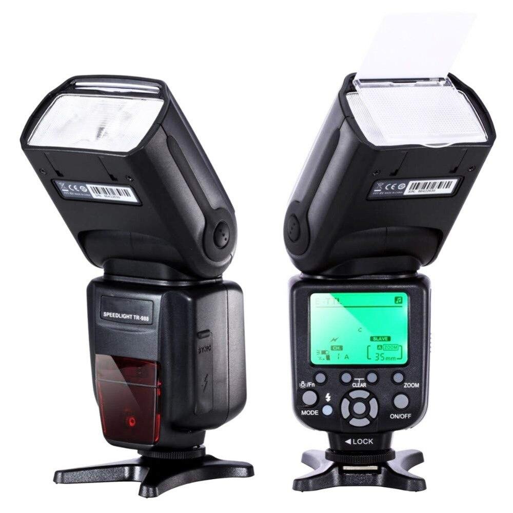 разновидности вспышек для фотоаппарата прочтённая информация