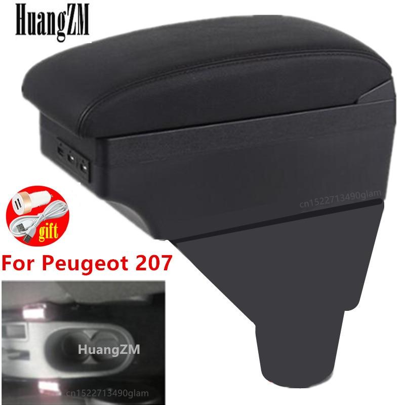 Для подлокотника Peugeot 207, аксессуары для модификации подлокотника