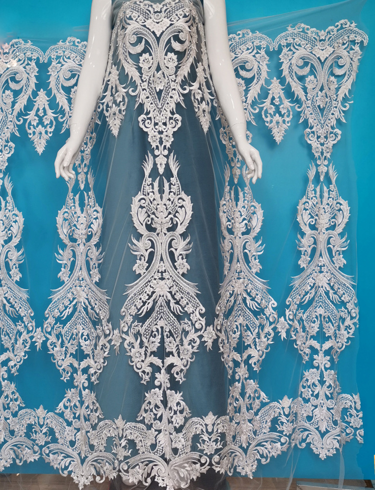 High Quality Wedding Dress Lace Fabrics Important Occasion Wedding Fabrics Textiles
