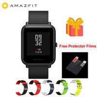1 rok gwarancji Amazfit Bip Lite inteligentny zegarek wersja globalna 45-jego bateria starcza na cały dzień pracy 3ATM wody odporność na Smartwatch dla Xiaomi 2019