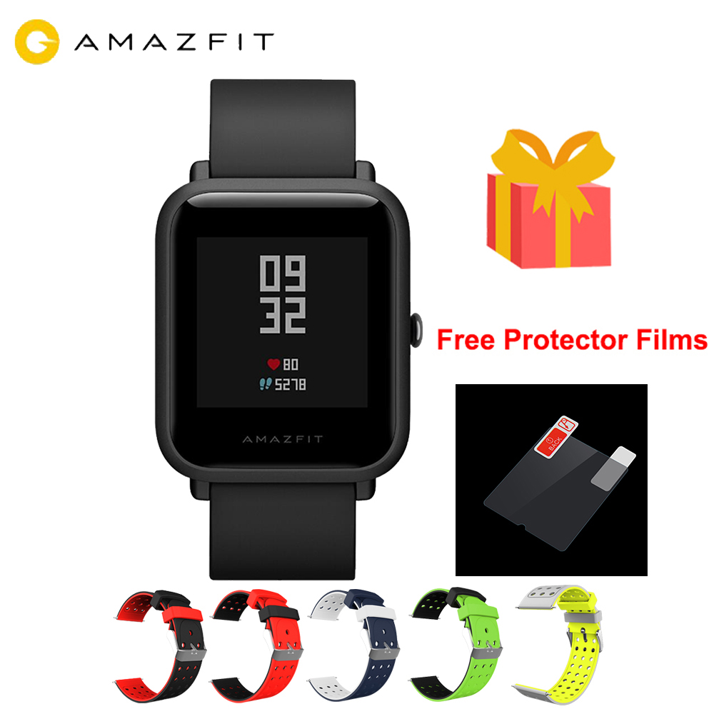 1 year warranty <font><b>Amazfit</b></font> Bip <font><b>Lite</b></font> Smart Watch Global Version 45-Day Battery Life 3ATM Water-resistance Smartwatch For Xiaomi 2019 image