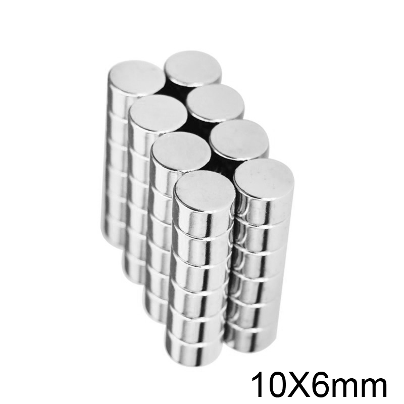 30PCS6mmX3mmSuperStrongDiscCylinderRareEarthNeodymiumMagnetsN52