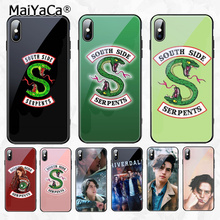 MaiYaCa American Hot TV Riverdale Newest Super Cute Phone Case for Apple iPhone 8 7 6 6S Plus X XS MAX XR Cover