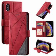 Coldre de telefone para xiaomi nota 10 mi a3 redmi nota 9 pro max k30 pro k20 redmi 10x 7 7a 8 8a 8t caso losango cor batida capa d21g