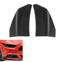 Car Front Bumper Lip Spoiler Decorative Wing for Ford Mustang 2015-2017(China)