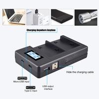 Lcd carregador de bateria NP-F960 NP-F970 np f970 np f960 filmadora carregador de bateria para sony NP-F550 f770 f750 f960 f970