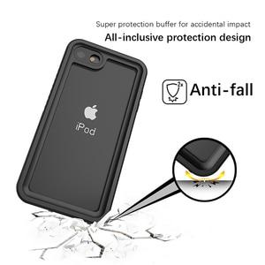 Image 5 - עבור iPod Touch 5 6 7 עמיד למים מקרה 360 תואר הגנת מקרה עמיד למים Dropproof עמיד הלם Dustproof מעטפת Coque Fundas