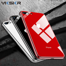 Luxury Glass Case For Apple iphone 6 7 8 10 Plus X XS XR MAX Cover 7plus 8plus 6