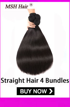 H1a1b42e6a14a4eba968d0f8adf1d44ce3 MSH Hair Brazilian Body Wave Human Hair Weave Bundles With 4*4 Lace Closure 130% Density Non Remy